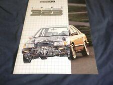 1987 Mazda 323 Usa Market Brochure Catalog Prospekt