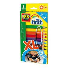 SES Creative 14416 MY FIRST Kreativ-Packung Buntstifte XL