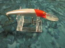 Deep Diving Jerkbait Red Head Silver Trout Bass Walleye Wiper Great Lure