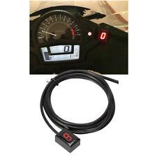 1 Pcs Plastic Red LED Digital Gear Indicator 1-6 For Honda CBR600 F4I 2001-2006