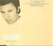 PAUL YOUNG Oh Girl 4TRX w/ 3 Greatest Hits Europe CD single SEALED USA Seller 85