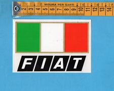 ADESIVO/STICKER - FIAT - vintage anni 80 - cm.7,5x11