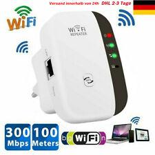 Mini WLAN Repeater 300Mbit/s Wireless Extender WLAN Verstärker LAN Port/ WPS DHL