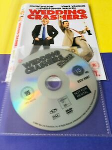 Wedding Crashers (DVD, 2005) No Case Disc & Cover only FREE POST
