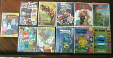 LOT OF 11 KID MOVIE DVD'S RUGRATS NICK Jr MUPPETS MONSTERS INC TESTED & WORK