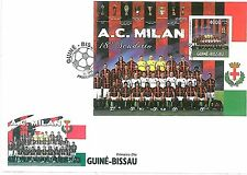 FOOTBALL - Guinea-Bissau - 2011 FDC Cover: MILAN
