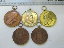 More details for lot large 1890's onw. belgium belgian equestrian medals societe royale hippique