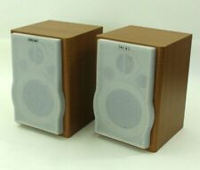 Sony SS-CEP707 Bookshelf Wood Speaker System Pair for CMT-EP707 Stereo System