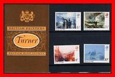 Great Britain 1975 Turner Paintings Mnh souvenir Pack