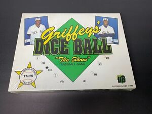 Ken Griffey's Dice Ball The Show Game 1990 Vintage autographed poster Sealed NIB
