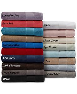 RALPH LAUREN Home SANDERS Bath, Hand and Washcloth Towels Multi-Colors Cotton