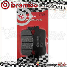 PLAQUETTES FREIN ARRIERE BREMBO CARBON CERAMIC 07069 KYMCO XCITING R 300 2010