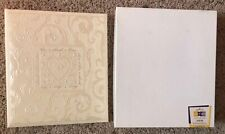 New Vintage Hallmark Wedding Album Photo Memory Keeper With Box