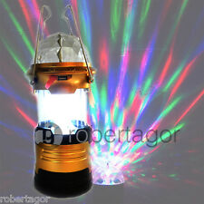 PROJECTOR LED LIGHTS CAMPING DISCOTHEQUE RGB RECHARGEABLE MULTICOLOURED