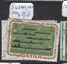 QATAR  (PP1110B)  SG  289. 291, 293   VFU