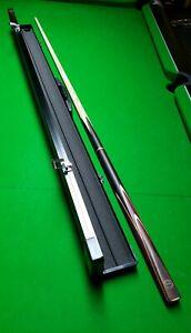 Cue Craft Ash Snooker Pool Cue Gods Range Hercules With Aluminium Case 3/4