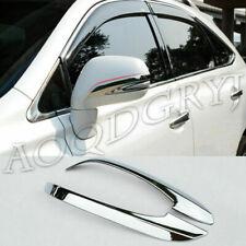 For Lexus Rx270 Rx350 Rx450h 10 2015 Abs Chrome Rearview Mirror Cover Trim Strip Fits 2013 Lexus Rx350