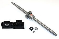 """67"""" inch Travel Stroke 20mm Anit-Backlash Ballscrew set with Nut and Bearing Sup"""