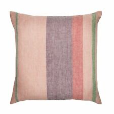 Anthropologie iittala Origo Striped Cushion Cover Throw Pillow Linen Sham Pink