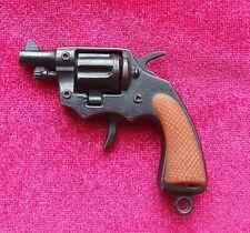Vintage Miniature Cap Gun Revolver Collectible Keyring Toy - Made in Hong Kong