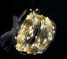 65ft 200 LED Solar Power Holiday Decor Wire String Fairy Lights