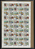 """Canada Stamps - Full Pane of 50 - 1974, """"Letter Carrier Service"""" #634-639 - MNH"""