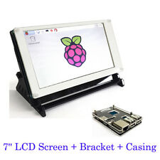 7'' LCD Touch Screen for Raspberry Pi 3 Model B / 2B / B+ with Bracket & Casing