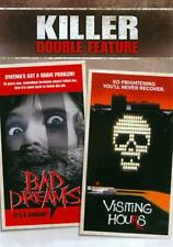 KILLER DOUBLE FEATURE: BAD DREAMS/VISITING HOURS NEW DVD