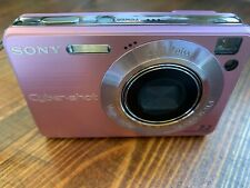 Sony Cyber-shot DSC-W120 7.2MP Digital Camera (pink)