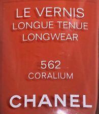 chanel nail polish 562 CORALIUM rare limited edition