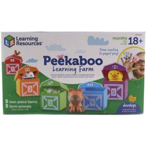 Learning Resources Peekaboo Learning Farm - LER6805