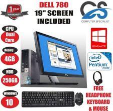 Desktop PC Dell OptiPlex 780 RAM 4GB
