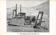Bannack, Montana ~ Gold Dredge, Large Group Of People ~ c. 1907-14