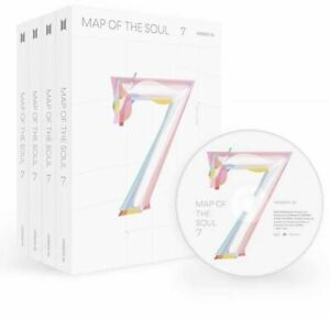BTS - Map of the Soul 7: CD Box Set (Choose your Version!) Free Shipping