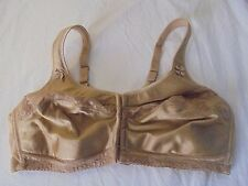 Comfort Choice Full Coverage Bra Plus Size 46C Magic Lift Front Hook
