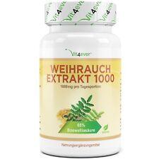 Weihrauch - 130 Kapseln (vegan) - mit 1000 mg pro Tag 65%25 Boswelliasäure