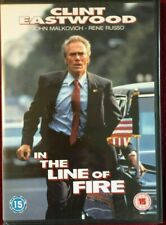 IN THE LINE OF FIRE DVD -New & Sealed
