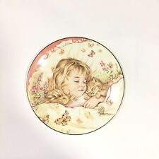 Monday's Child Is Fair Of Face A Child's Blessing Plate Collection Pam Cooper