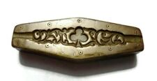 VINTAGE - INDIA HAND ENGRAVED - BRONZE JEWELRY DIE MOLD / MOULD - AUDC8