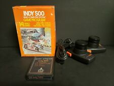 Indy 500 (Atari 2600, 1978) Complete Boxed Big Box