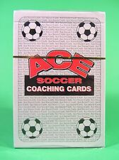 ACE Soccer Coaching Cards Deck of 64 Laminated Weather Proof Coded by Suit MINT