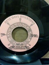 NEW ORLEANS THE BLUES BOYS MAYOR AARON BROUSSARD RONNIE LAMARQUE RARE 45RPM EX