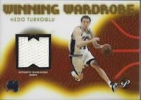 2004-05 Topps Pristine Winning Wardrobe #HT Hedo Turkoglu Jersey - NM-MT