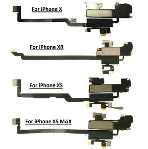 For iPhone X XR XS xs Max Ear Speaker Flex Proximity & Light Sensor Replacement
