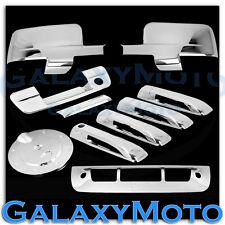 Dodge Ram Chrome Mirror w/Light+4 Door Handle+Tailgate KH+Gas+3rd Brake Cover