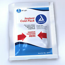 Dynarex Instant Cold Pack, 4″ x 5″, 24/Case 4511 Therapy Pak Sore Pain Relief