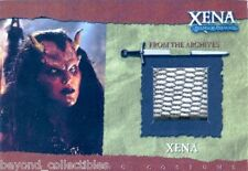 XENA SEASON 6 COSTUME PIECEWORKS CARD - LUCY LAWLESS R5 - MESH COPPER VARIENT