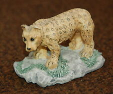 "Leopard Resin Figurine 1 3/4"" High"