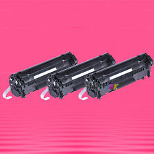 3 Non-OEM Alternative TONER for HP Q2612X 12X LaserJet 1020 1022 1022n 1022nw