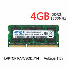 For Samsung 4GB DDR3 2RX8 1333MHz PC3-10600S 204pin SODIMM Laptop Memory RAM CL9